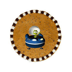 Great American Cookie Cake
